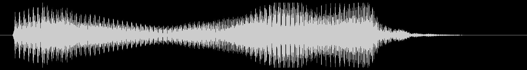 ポローン(柔らかめのシンセ音)の未再生の波形