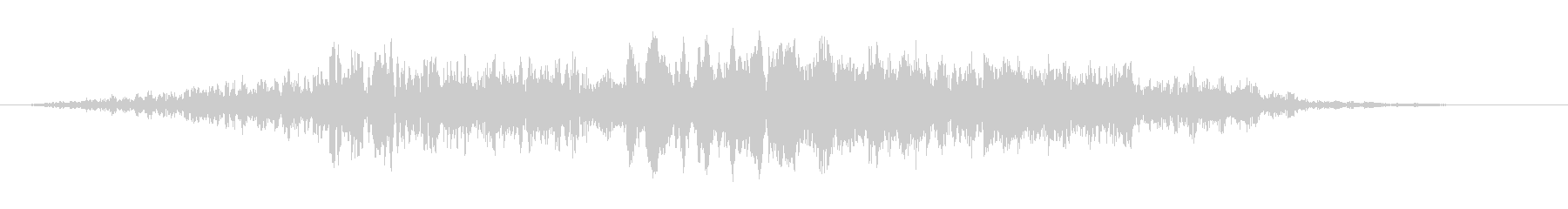 ホローフェーズドジェットフーシュ5の未再生の波形