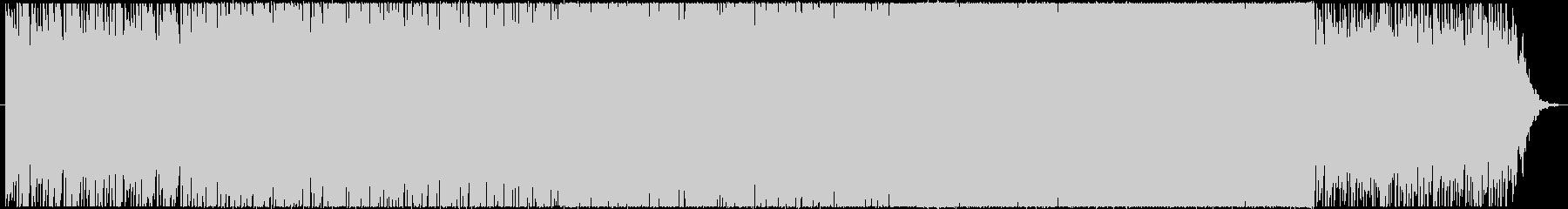ピアノフレーズから展開するポップスBGMの未再生の波形
