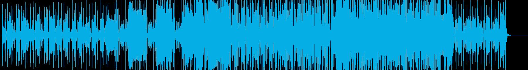 ほのぼのとしたヴァイオリンポップスの再生済みの波形