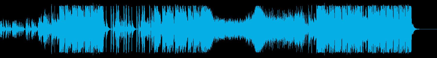 K-POPアイドル風ダンサブルなポップスの再生済みの波形