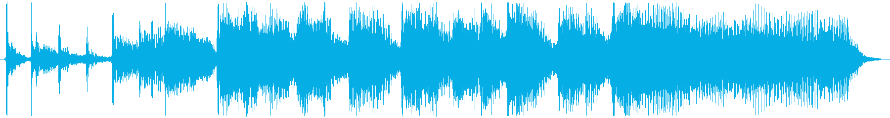 6秒ジングル用、ギター・ポップの再生済みの波形