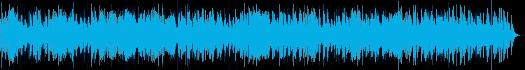 再起をイメージしたデキシーランドジャズの再生済みの波形