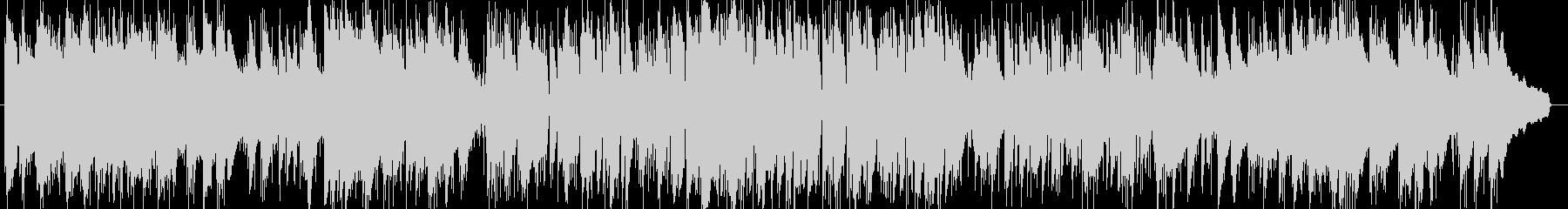 和風オリジナルジャズピアノの未再生の波形