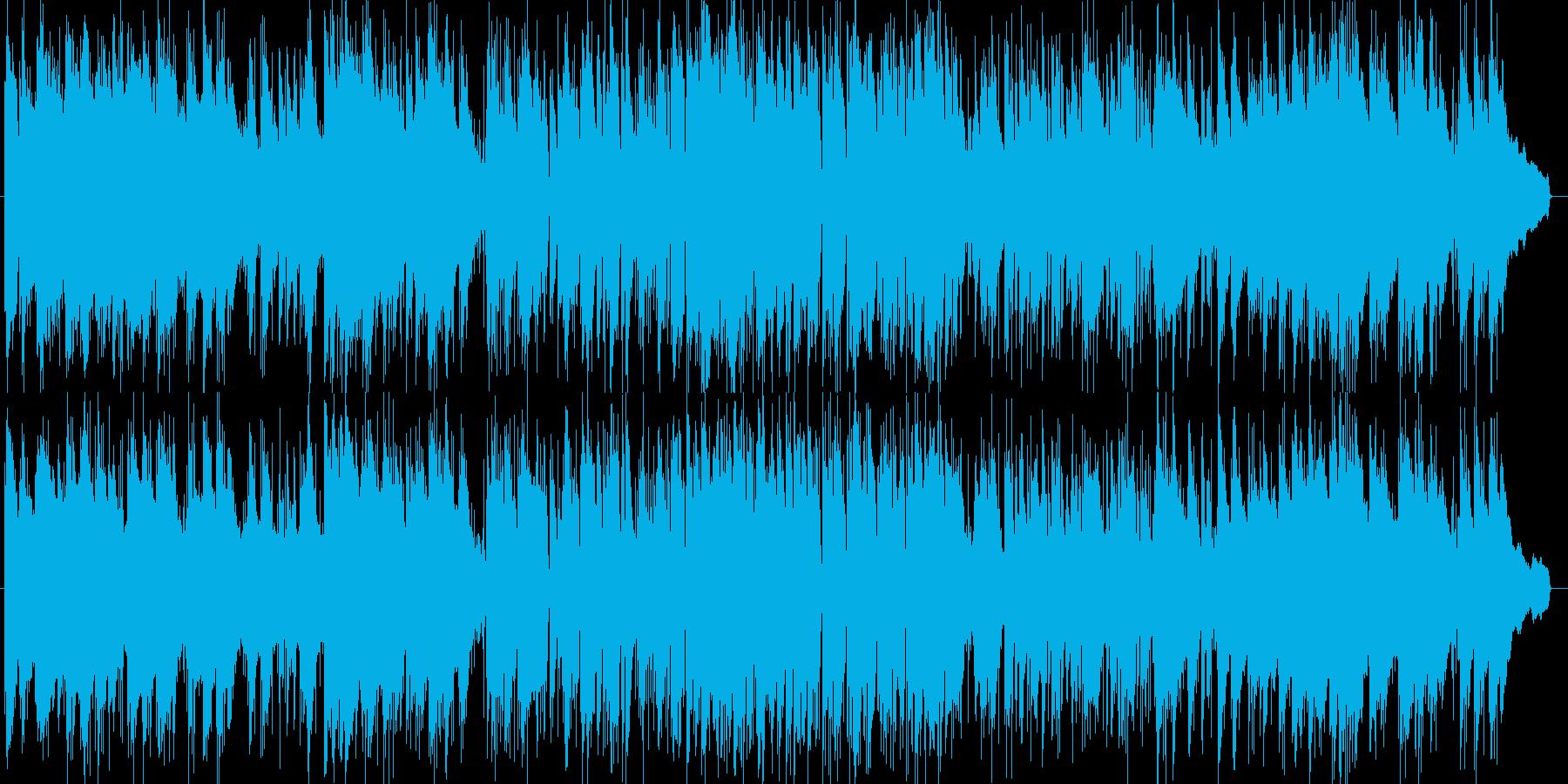 和風オリジナルジャズピアノの再生済みの波形