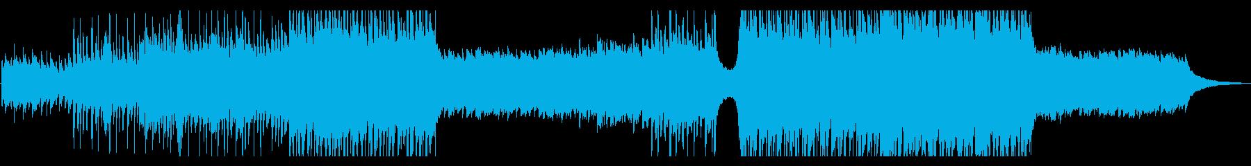 ポップ ロック アンビエント コー...の再生済みの波形