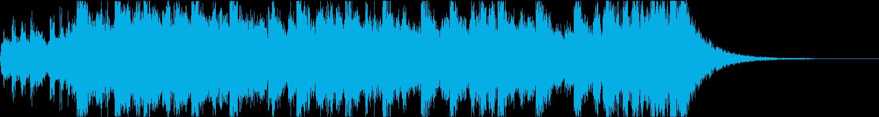 勇壮なエピックオーケストラジングル(短)の再生済みの波形