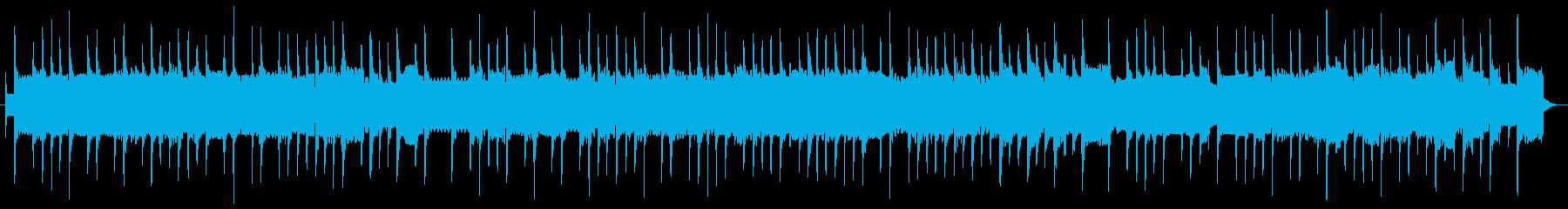 ノスタルジックなストリートオルガン曲の再生済みの波形