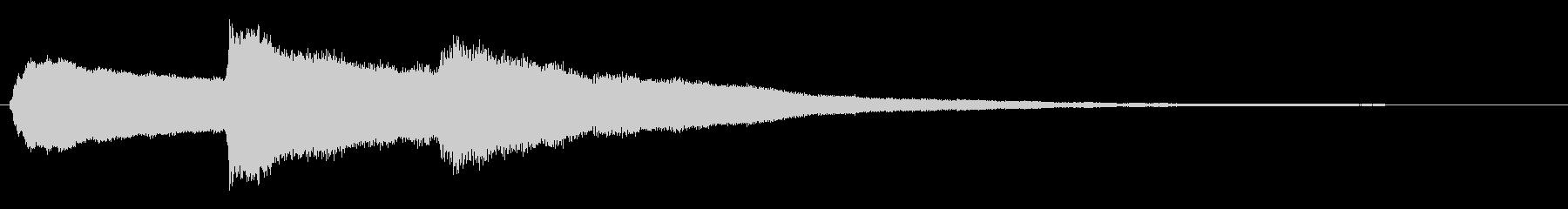 ピロリロリン_場面転換の定番効果音の未再生の波形