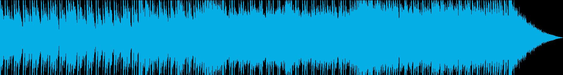 不安なトレモロ効果のギターフィギュ...の再生済みの波形