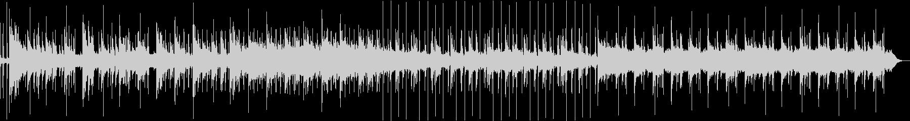 ゆったり雰囲気のピアノ主体アンビエントの未再生の波形
