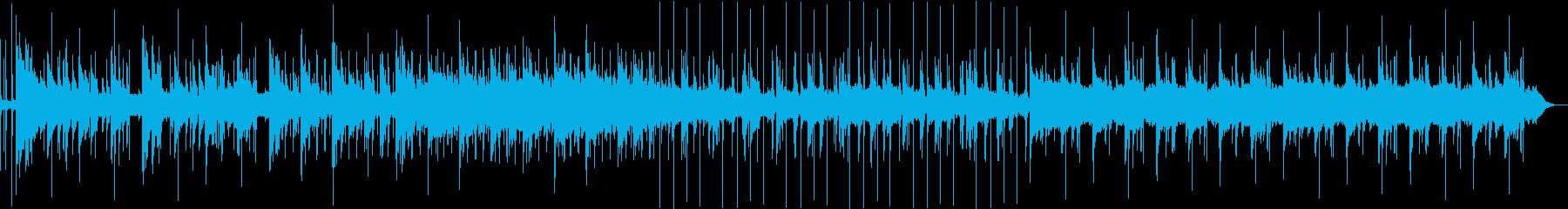 ゆったり雰囲気のピアノ主体アンビエントの再生済みの波形