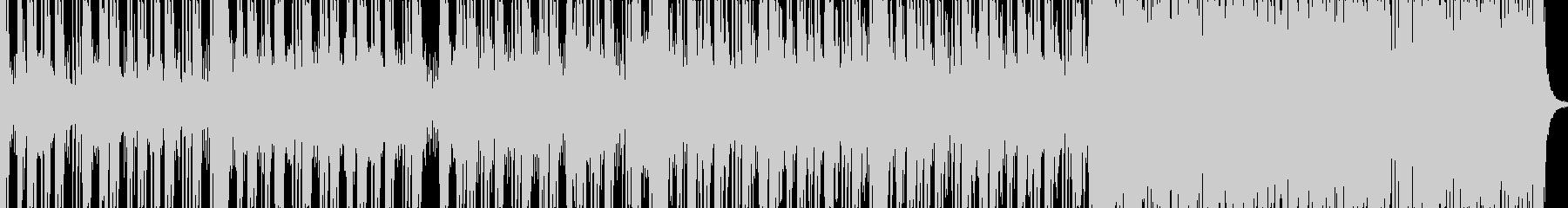 ロックに仕上げたカッコイイに分類される…の未再生の波形
