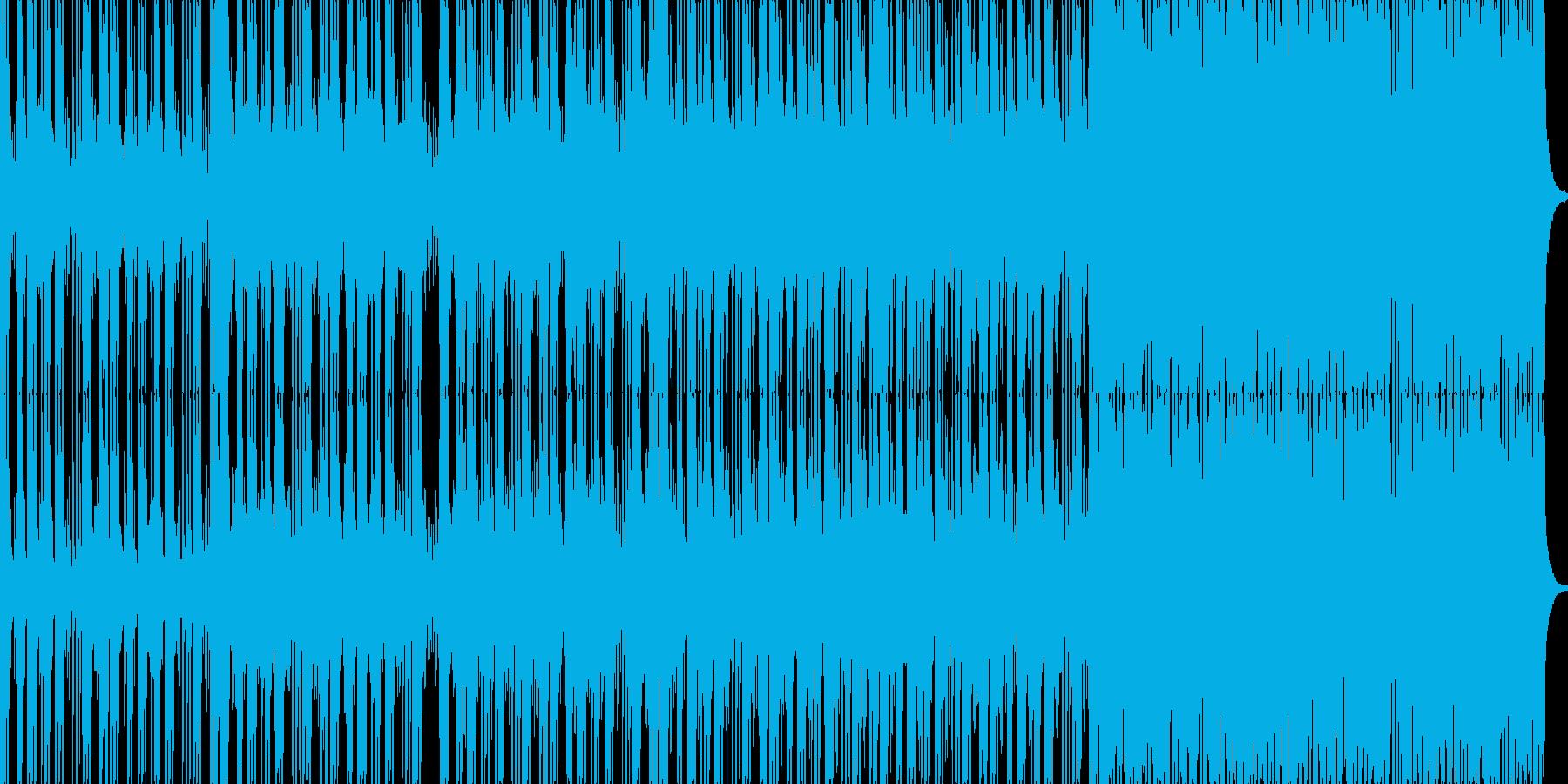 ロックに仕上げたカッコイイに分類される…の再生済みの波形