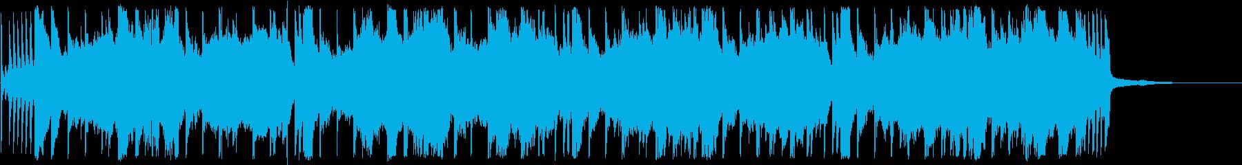 軽快なトランペットのジングルの再生済みの波形