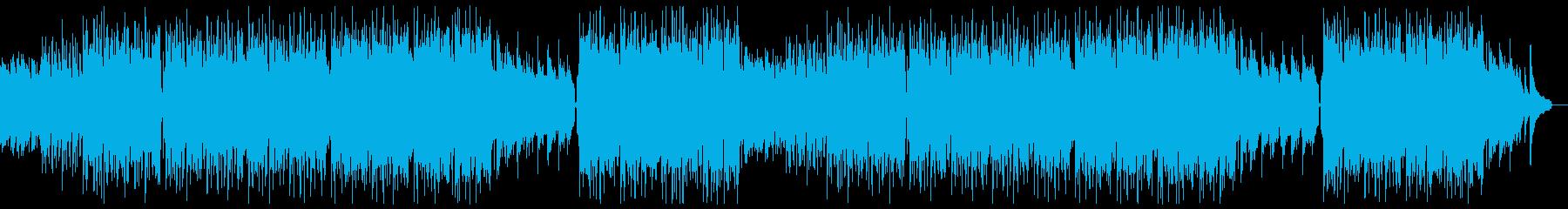 明るいピアノバイオリンポップ:フルx2の再生済みの波形