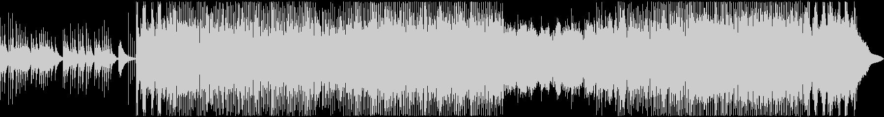 琴(箏)の生演奏によるミドルテンポ和風曲の未再生の波形