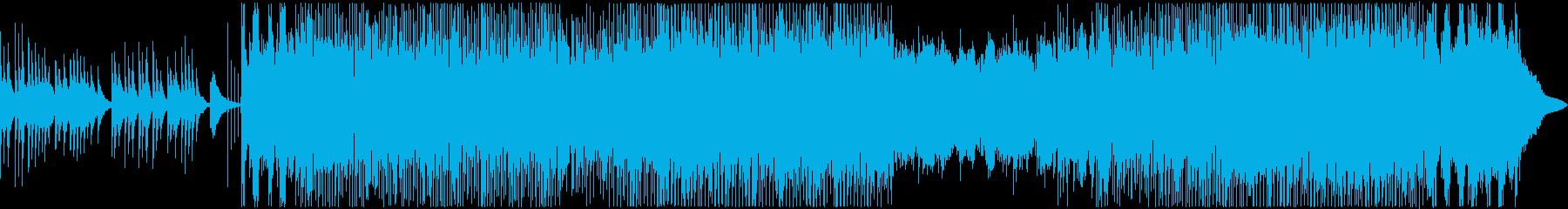 琴(箏)の生演奏によるミドルテンポ和風曲の再生済みの波形