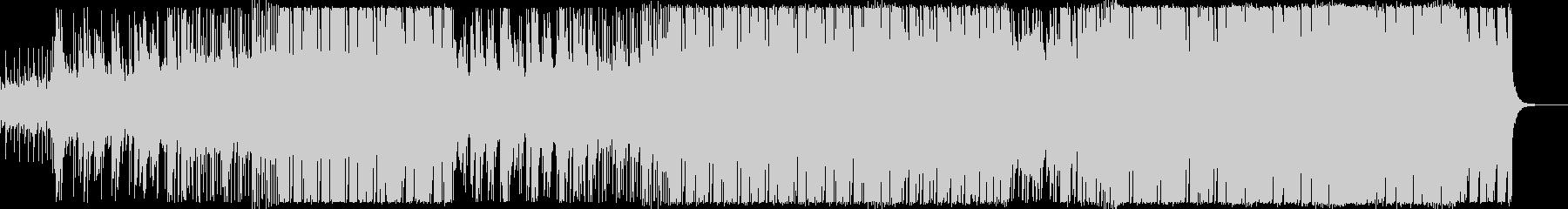 シンセチックで機械的なファンクの未再生の波形