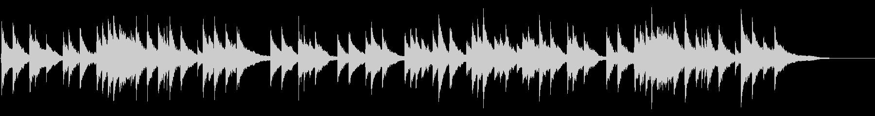 ヘンデルのアリア〈私を泣かせてください〉の未再生の波形