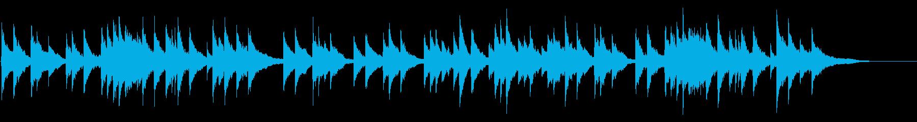ヘンデルのアリア〈私を泣かせてください〉の再生済みの波形