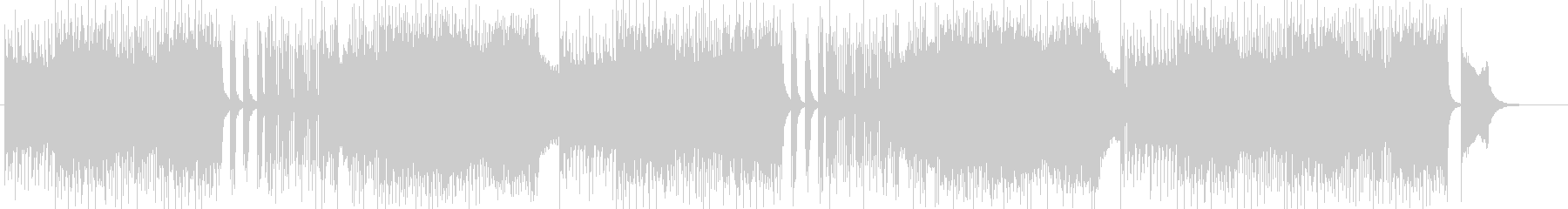 ハードロック、ダークな作曲 BGM257の未再生の波形