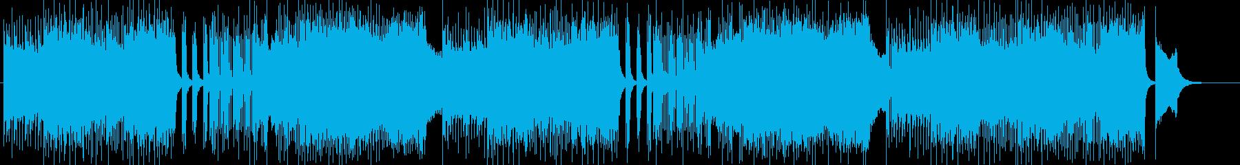 ハードロック、ダークな作曲 BGM257の再生済みの波形