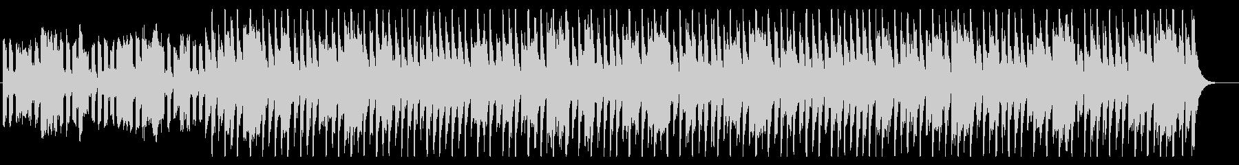 スピード感のある明暗の同居するEDMの未再生の波形
