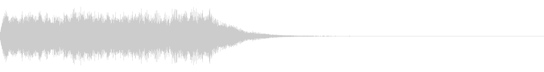 オープニング等で使える優雅なジングル1の未再生の波形