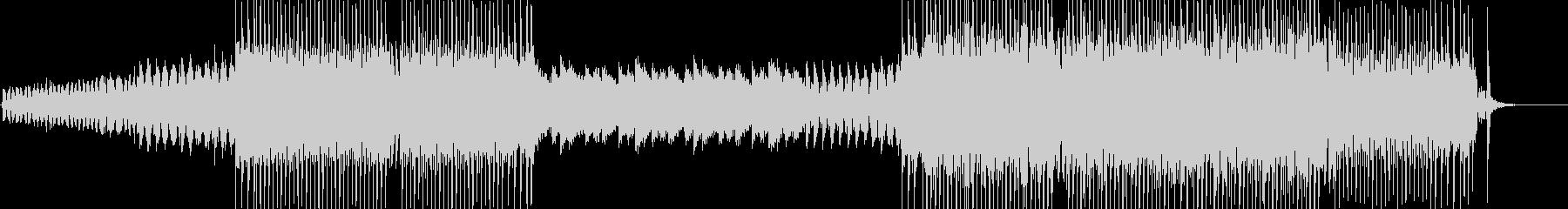 EDMでトランス風の曲の未再生の波形