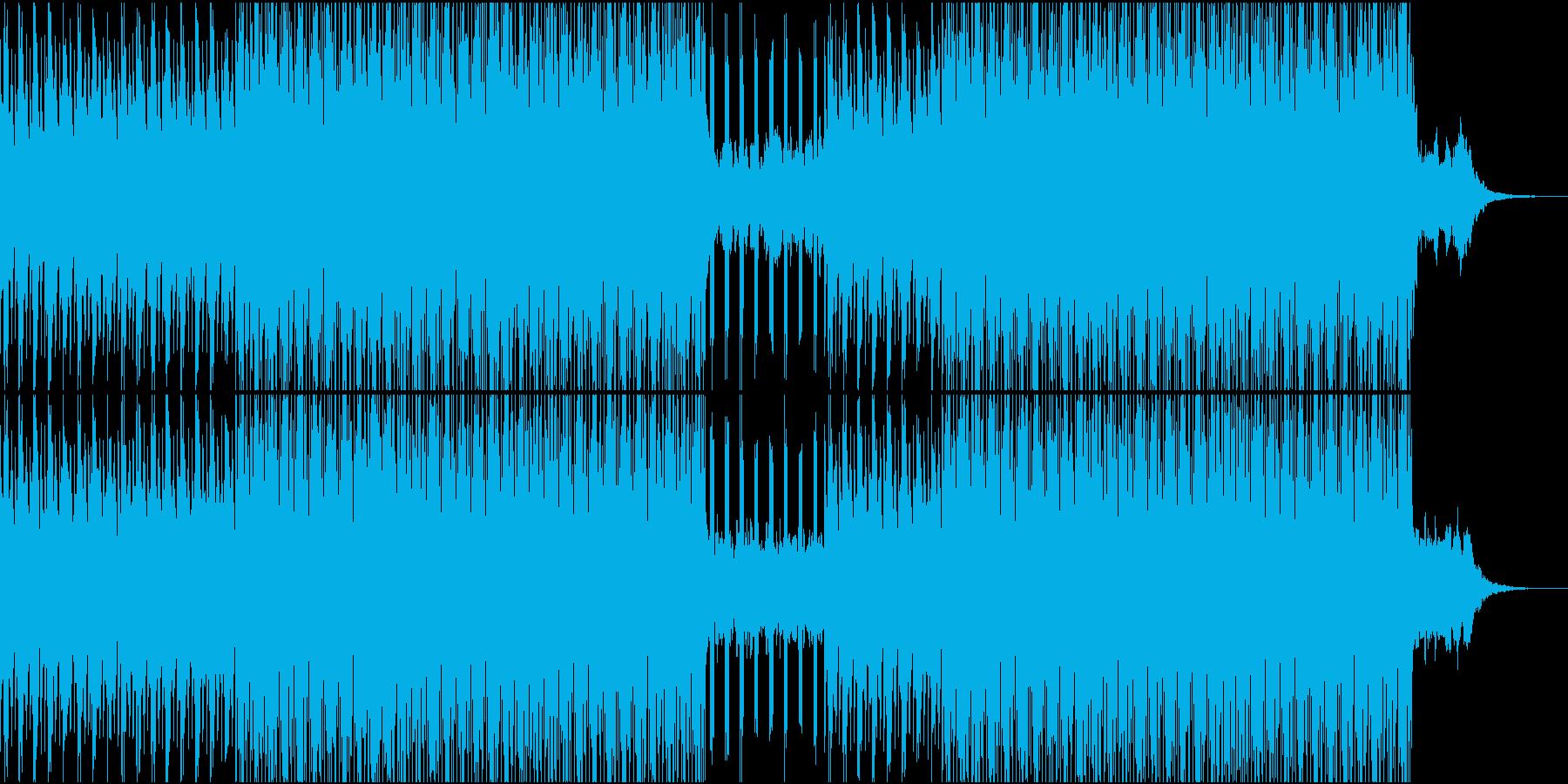 VPなどの映像用BGMに(WAV)の再生済みの波形