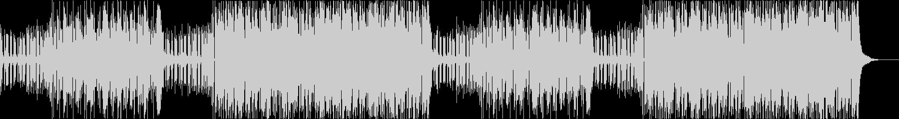 2つのジャンルを繰り返すEDMの未再生の波形