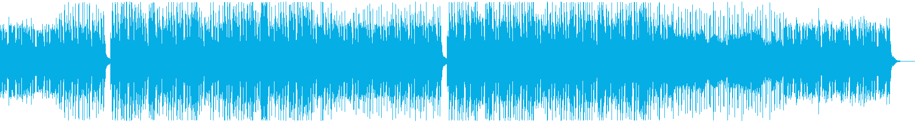 クールで都会的なシンセミュージックの再生済みの波形