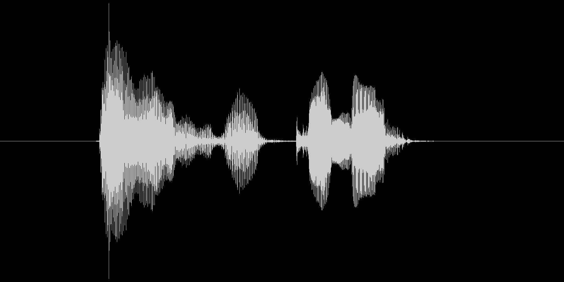 第六問の未再生の波形