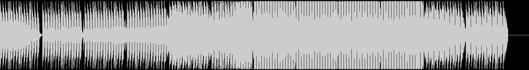 アガるダンス・ミュージック(EDM)の未再生の波形