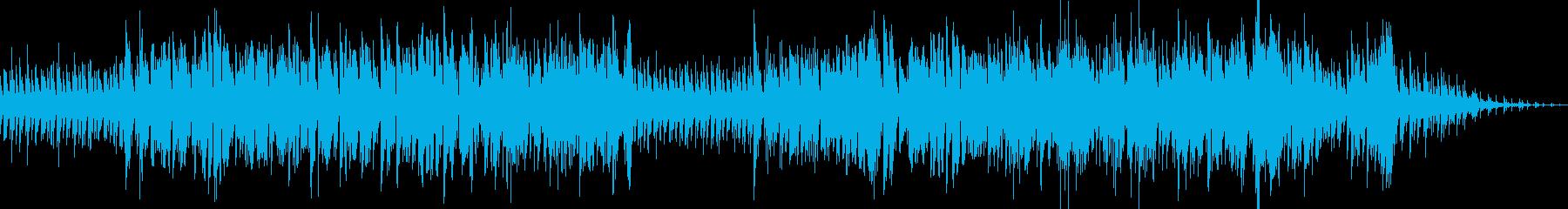爽やかなミディアムテンポのポップスの再生済みの波形