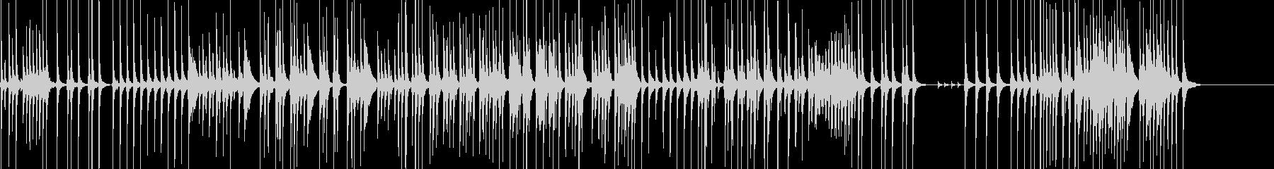 三味線79鷺娘11合方生音歌舞伎妖怪鷺雪の未再生の波形