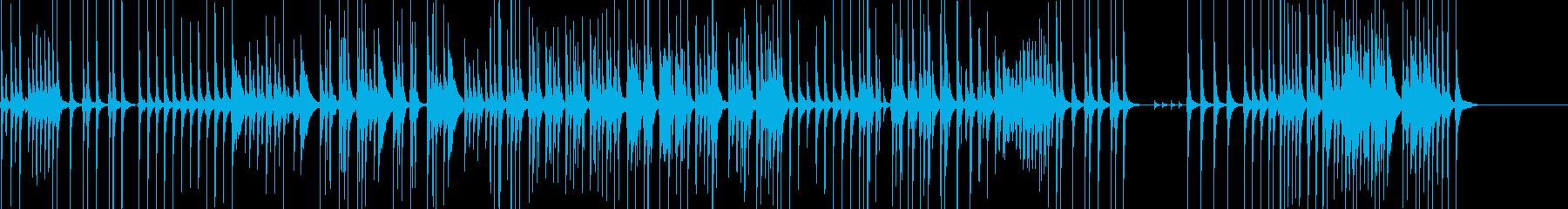 三味線79鷺娘11合方生音歌舞伎妖怪鷺雪の再生済みの波形