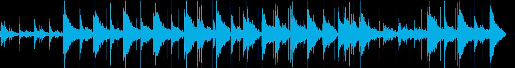 エレガント/切ない/洗練/ピアノバラードの再生済みの波形