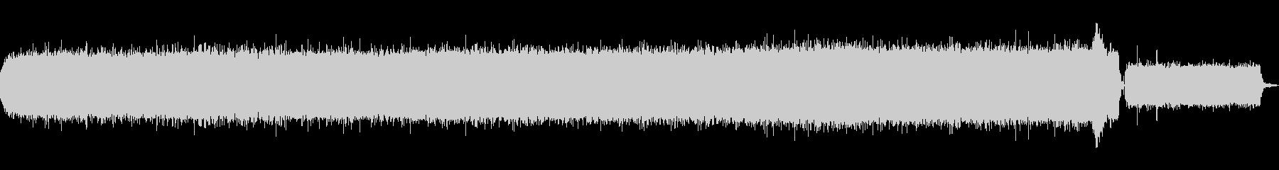 家庭用精米機の音の未再生の波形