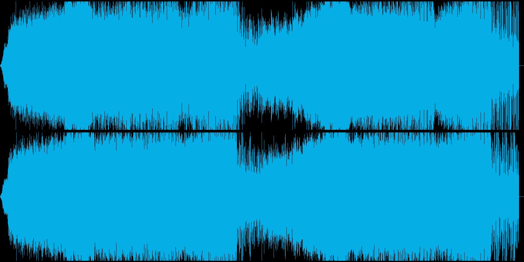 アンビエント ランドスケープ チルアウトの再生済みの波形