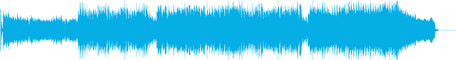 ★踊れるRockなEDMの再生済みの波形