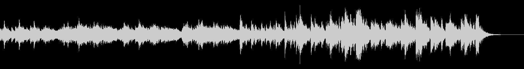 ショートBGM、シネマティックの未再生の波形