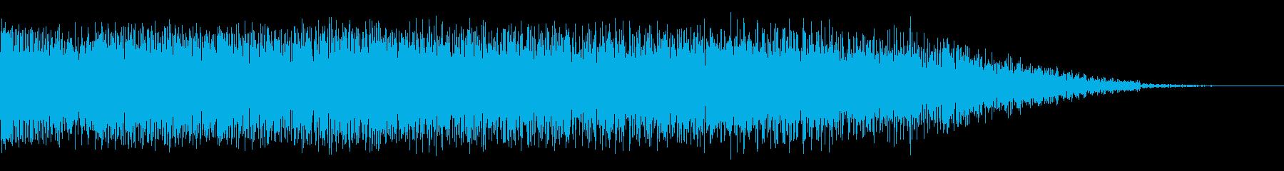 歪んだパワーワーブルスイープ3の再生済みの波形