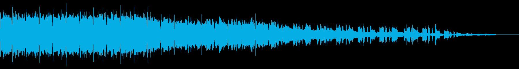 SF、スペーシー、無機質なイントロの再生済みの波形