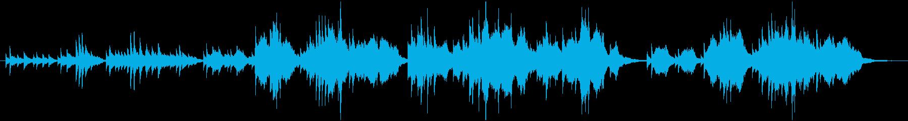 ピアノ・ストリングスによる清らかな哀しみの再生済みの波形
