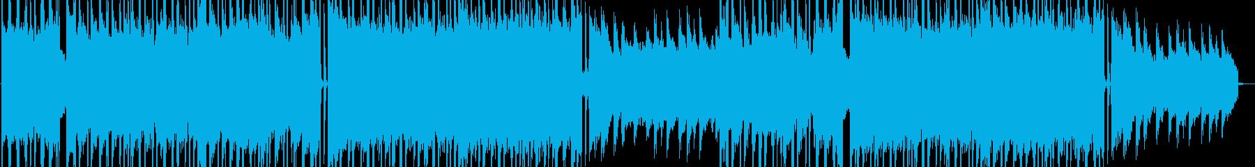 刺激的でトレンディなヒップホップ音楽の再生済みの波形