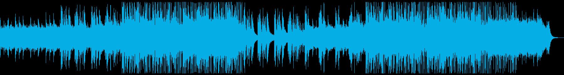 ピアノのゆったりとしたチルポップ。の再生済みの波形
