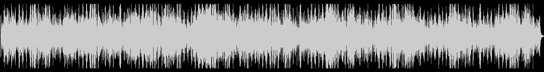 アンビエントでディストピア的なピアノ曲の未再生の波形