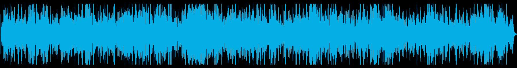 アンビエントでディストピア的なピアノ曲の再生済みの波形
